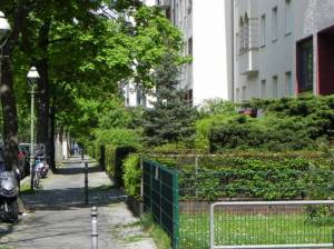 Nassauische Straße (2014) Nassauische Straße, Berlin-Wilmersdorf, Kirche am Hohenzollernplatz, Volkspark Wilmersdorf