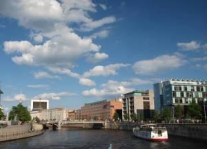 Reichstagufer (2014) Reichstagufer, Berlin-Mitte, Reichstag, Spree, Tränenpalast