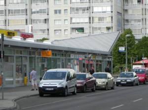 Ribnitzer Straße, Berlin - Neu-Hohenschönhausen, Berl, Malchower Auenpark, Kletterfelsen