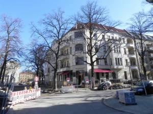 Schulstraße, Berlin-Pankow, Volkshochschule, Bleichröderpark