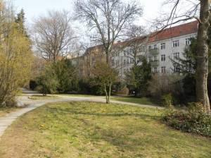 Stolbergstraße (2011) Stolbergstraße, Berlin-Tempelhof, Lehnepark, Alt-Tempelhof, Alter Tempelhofer Friedhof