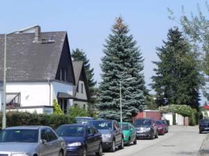 Tacitusstraße, Berlin-Mariendorf, Kleingartenanlagen
