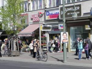 Tauentzienstraße (2014) Tauentzienstraße, Berlin-Schöneberg, KaDeWe, Wittenbergplatz