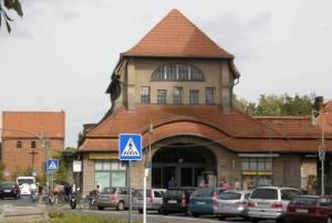 Bahnhof und Frohnauer Brücke (2009) S-Bahnhof Frohnau, Zeltinger Platz, Casinoturm, Ludolfingerplatz, Buddhistisches Haus