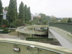 Goerdelersteg (2010) Goerdelersteg, Charlottenburg, Westhafenkanal, A100