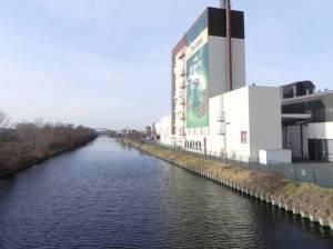 Britzer Verbindungskanal (2011) Britzer Verbindungskanal, Chris Gueffroy, Mauerweg, Industriebauten