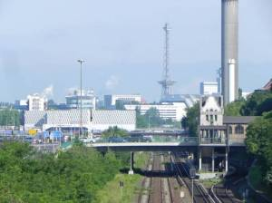 Hohenzollerndammbrücke (2014) Hohenzollerndammbrücke, Berlin-Wilmersdorf, S-Bahnhof Hohenzollerndamm