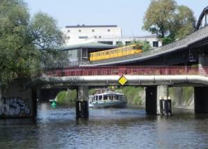 Großbeerenbrücke, Berlin-Kreuzberg, Landwehrkanal