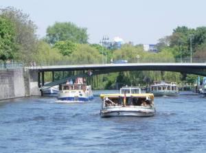 Hansabrücke (2011) Hansabrücke, Berlin-Moabit, Spree