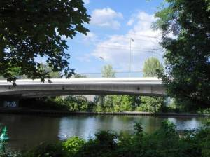 Rohrdammbrücke, Berlin-Siemensstadt, Spree