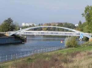 Kieler Brücke, Gedenkstätte Günther Litfin, Nordhafen, Nordpanke, Sellerpark