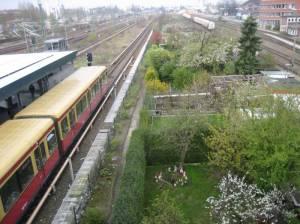S-Bahnhof Westhafen (2008)  S-Bahn Westhafen, Berlin-Wedding, Westhafen, Kraftwerk Moabit