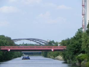 Britzer-Allee-Brücke (2014) Britzer-Allee-Brücke, Berlin-Neukölln, Chris Gueffroy, Mauerweg