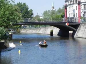 George-C.-Marshall-Brücke (2011) George-C.-Marshall-Brücke, Landwehrkanal, Potsdamer Platz
