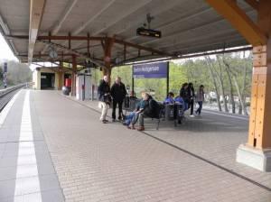 S-Bahnhof Heiligensee (2014) S-Bahnhof Heiligensee, Heiligensee, Stolper Heide, Stolpe-Süd, Mauerweg