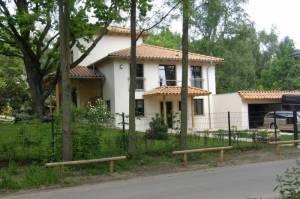 Wohnhaus (2010) Am Sandkrug, Glienicke Nordbahn, Entenschnabel
