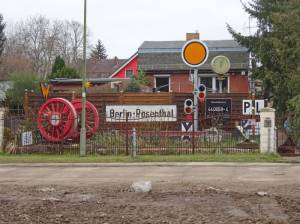 Straße 127 (2018) Straße 127, Berlin-Rosenthal, Zingergrabenniederung, Freizeit- und Erholungspark Lübars