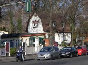 Hermsdorfer Damm (2011) Hermsdorfer Damm, Tegeler Forst, Waldsee