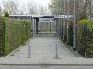 S-Bahnhof Lichterfelde-Süd, Kirschbaumallee, Mauerweg, Thermometersiedlung