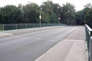 Friedensbrücke (2008) Friedensbrücke, Kleinmachnow, Machnower See, Teltowkanal