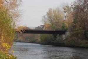 Rammrathbrücke (2011) Rammrathbrücke, Teltow, Teltowkanal