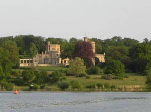 Schloss Babelsberg und Glienicker Lake (2011) Glienicker Lake, Babelsberg und Klein Glienicke