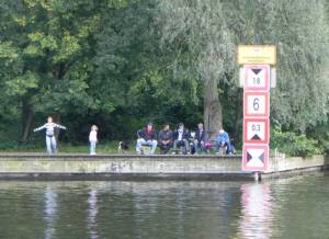 Neue Fahrt, Nuthemündung (2011) Neue Fahrt, Potsdam (Südliche Innenstadt), Freundschaftsinsel, Havel