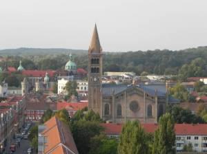 Am Bassin, St. Peter und Paul Kirche (2011) Am Bassin, Potsdam, Bassinplatz, St. Peter und Paul, Holländisches Viertel