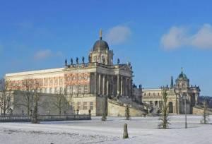 Zentralgebäude der Universität Potsdam, Communs (2016) Am Neuen Palais, Potsdam, Brandenburger Vorstadt, Universität Potsdam, Park Sanssouci, Kaiserbahnhof, Neues Palais