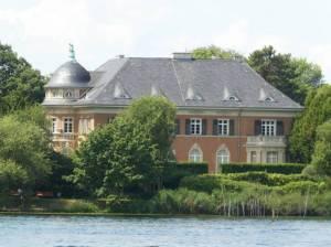 Berliner Straße, Villa Kampffmeyer 2020 Berliner Straße, Potsdam-Berliner Vorstadt, Tiefer See, Villa Kampffmeyer
