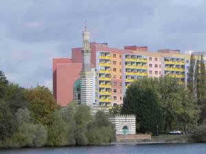 Breite Straße mit Havel und Dampfmaschinenhaus (2011) Breite Straße, Nördliche Innenstadt, Dampfmaschinenhaus, Filmmuseum