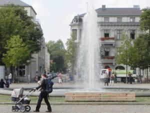 Luisenplatz (2011) Luisenplatz, Potsdam-Brandenburger Vorstadt, Brandenburger Tor