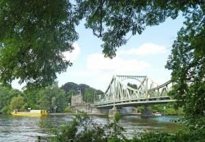 Königstraße, Glienicker Brücke 2020 Königstraße, Berlin-Wannsee, Schloss Glienicke, Glienicker Brücke, Wannsee, Kleistgrab