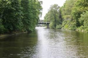 Griebnitzkanal (2009) Griebnitzkanal, Berlin-Wannsee, Kleiner Wannsee, Pohlesee, Stölpchensee, Düppeler Forst