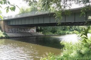 Eugen-Kleine Brücke (2011) Eugen-Kleine-Brücke, Lichterfelde, Lichterfelde, Denkmal KZ-Außenlager