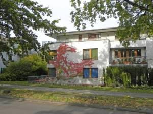 Clauertstraße (2014) Clauertstraße, Berlin-Zehlendorf, Museumsdorf Düppel, Düppeler Forst, Stammbahn, Krummes Fenn, Tierkliniken, Justizvollzugsanstalt