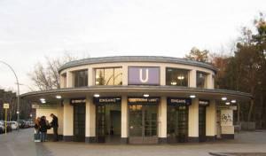 U Krumme Lanke, Berlin-Zehlendorf, Krumme Lanke, Schlachtensee, Grunewald, Krankenhaus Waldfriede