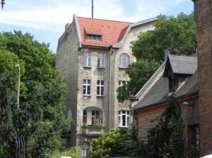 Dietzgenstraße, Berlin-Niederschönhausen, Schloss Schönhausen, Brosepark, Straßenbahndepot