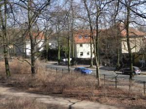 Wackenbergstraße, Berlin-Niederschönhausen, Brosepark