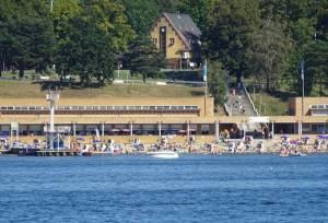 Wannseebadweg, Strandbad Wannsee (2016) Wannseebadweg, Berlin-Nikolassee, Großer Wannsee, Strandbad Wannsee, Wannseeterrassen