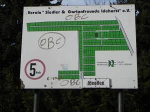 Kleingartenanlage Idehorst (2011) KGA Idehorst, Berlin-Blankenfelde, Idehorstpark