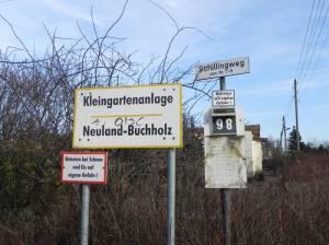 Kleingartenanlage Neuland Buchholz (2011) KGA Neuland Buchholz, Idehorstpark