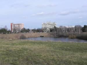 Nahmitzer Damm und Freseteich (2015) Nahmitzer Damm, Berlin-Marienfelde, Freizeitpark Marienfelde, Gutspark Marienfelde, Freseteich