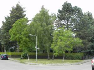 Nebelhornweg, Berlin-Mariendorf, Park an der Britzer Straße