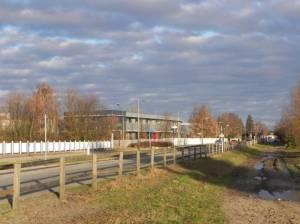 Schichauweg (2011) Schichauweg, Berlin-Lichtenrade, Marienfelder Feldmark, Wäldchen am Königsgraben, Freizeitpark Marienfelde