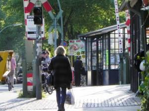Bahnhofstraße, Berin-Lichtenrade, Einkaufsstraße, Salvatorkirche
