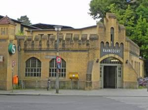 S-Bahnhof Rahnsdorf (2014) S-Bahnhof Rahnsdorf, Woltersdorfer Straßenbahn, Fähre 23, Rahnsdorf, Forst Köpenick