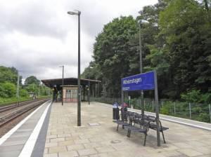 S-Bahnhof Wilhelmshagen (2014) S-Bahnhof Wilhelmshagen, Wilhelmshagen, Köpenicker Forst, Neu-Venedig