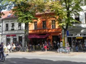 Bölschestraße, Berlin-Friedrichshagen, beliebte Einkaufs- und Bummelmeile in Friedrichshagen