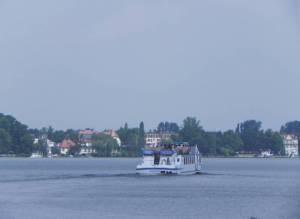 Müggelseedamm, Berlin-Friedrichshagen, Müggelsee, Museum im Wasserwerk, Badestellen, Spreetunnel